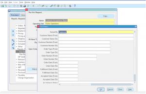 Order Management Customer Acceptance Report
