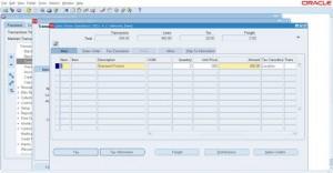 AR Invoice creation - Lines