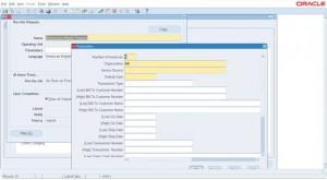 AR Auto Invoice Import - Paramters
